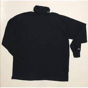 VINTAGE 90s CHAMPION Turtleneck sweater men's XXL